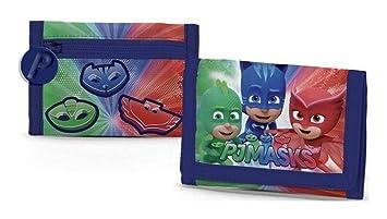 CORIEX PJ Máscaras Pijama Héroes a95766 Cartera, poliéster, Multicolor, Catboy, eulette,