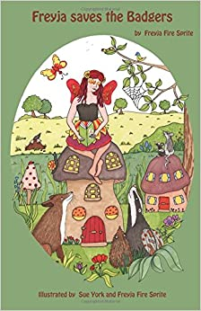 Book Freyja Saves the Badgers- for ages 3-6yrs