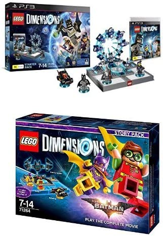 LEGO - Starter Pack Dimensions (PS3) + LEGO Dimensions Story Pack ...