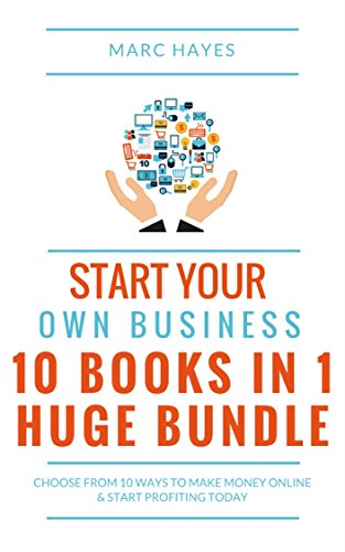 Large book cover: Start Your Own Business
