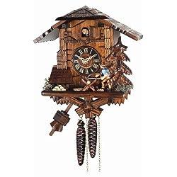 Alexander Taron Home Seasonal DÃÂcorative Accessories Engstler Weight-driven Cuckoo Clock - Full Size - 10.5H x 10W x 6D by Alexander Taron