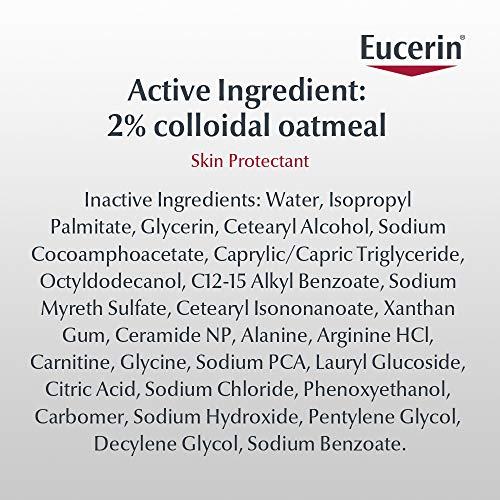 Eucerin Baby Eczema Relief Cream Body Wash, Gentle Cleanser for Eczema-prone Skin, 13.5 Fl Oz