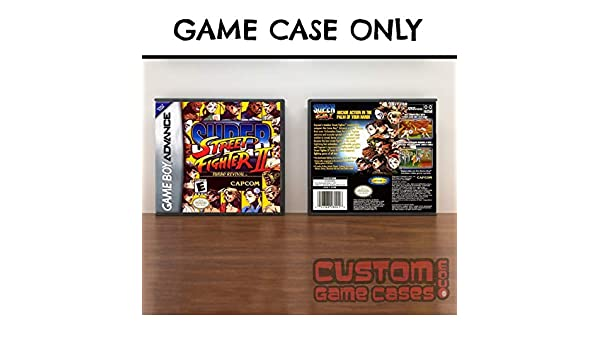 Amazon.com: Gameboy Advance Super Street Fighter II Turbo Revival - Case: Handmade