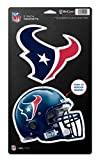 "NFL Houston Texans WCR18923014 Magnets (2 Pack), 5"" x 9"""