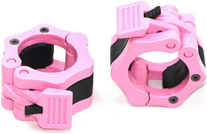 AKDSteel 1 Pair Quick Release Locking 50MM Olympic Size Barbell Clamp Collar Great for Pro Training