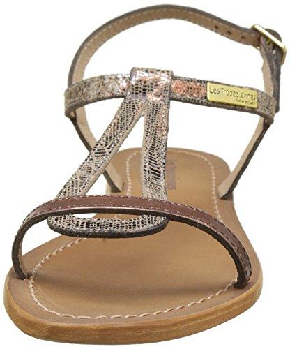 Marron Sandales Hamat Par Bronze cuivre Tropéziennes Belarbi M Les Femme wfW0Pnqnx