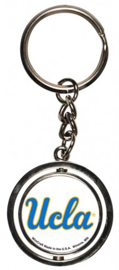 WinCraft UCLA Bruins Key Ring Spinner, Metal with Durable Domed Graphics