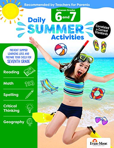 Evan-Moor Daily Summer Activities, Between 6th Grade and 7th Grade Activity ()
