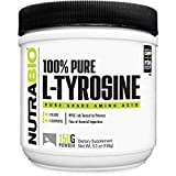 NutraBio 100% Pure L-Tyrosine Powder (150 Grams, 500mg Serving) For Sale