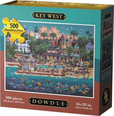 Dowdle Jigsaw Puzzle - Key West - 500 Piece
