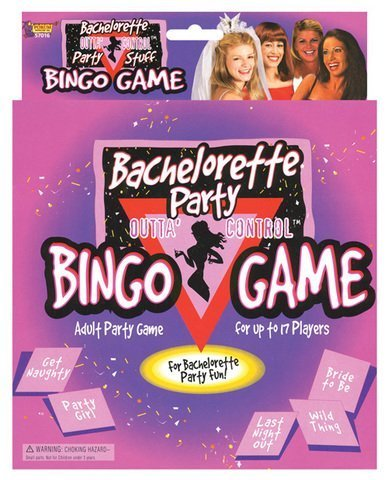Bachelorette party bingo game (Package Of 8) by superkrit
