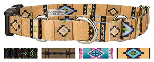 Country Brook Design | Native Southwestern Martingale with Deluxe Buckle - Large