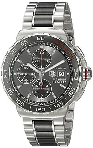 TAG Heuer Men's CAU2011.BA0873 Formula 1 Stainless Steel Automatic Watch (Bezel Tag Heuer)