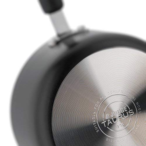 28cm Judge Taurus Saute Pan with Non-Stick Coating and Lid in Black