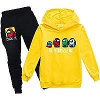 Among Us - Conjunto de chándal con capucha y sudadera para niños y niñas