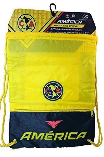 Amazon.com: Club America Duffle Duffel Bag Gym + Club America Drawstring Cinch Sack Soccer (Navy): Sports & Outdoors