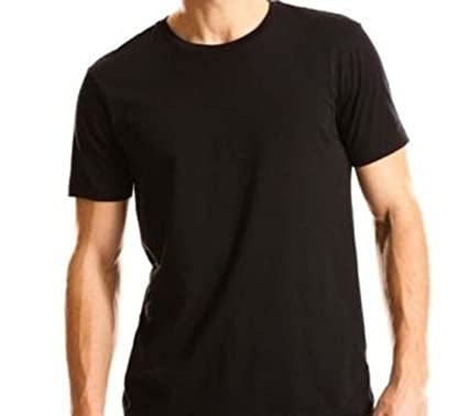 Kirkland Men's Crew Neck Black T-shirts (/Pack of 4) | Amazon.com