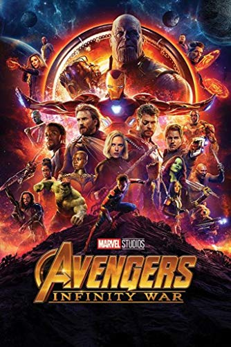 MCPosters - Marvel Avengers Infinity War 2018 Movie Poster GLOSSY FINISH - MCP018 (24