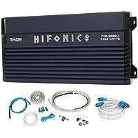 Hifonics TMA-2000.4 2000w 4-Channel Marine Boat ATV/UTV/RZR Amplifier+Amp Kit