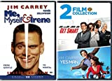 Still Laughing Me, Myself & Irene + Get Smart & Yes Man Comedy Set 3 Movie Funny Bundle