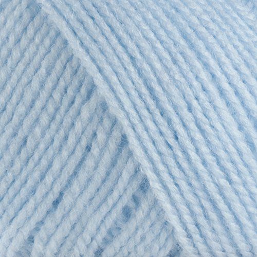 James Brett 100% Acrylic Baby Aran Knitting Yarn Supersoft Knit Craft Wool 500g (Blue BA5) by James C Brett