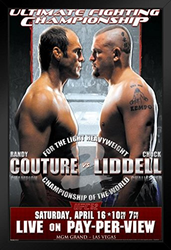 Used, Pyramid America Official UFC 52 Randy Couture vs Chuck for sale  Delivered anywhere in USA