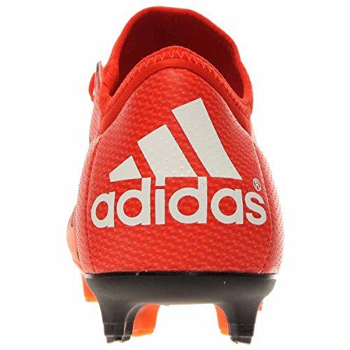 Adidas X 15.1 Fg / Ag Soccer Cleats (naranja Solar, Negro) Naranja Negrita / Blanco / Naranja Solar