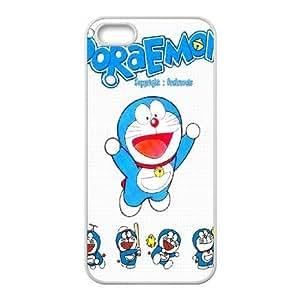 iPhone 5 5s White Phone Case Doraemon Rational Cost-effective Surprise Gift Unique WIDR8611001822