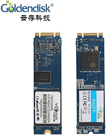goldendisk NGFF SSD mSATA 2.0 256 GB M.2 2280 Mini PCI-E MSATA ...