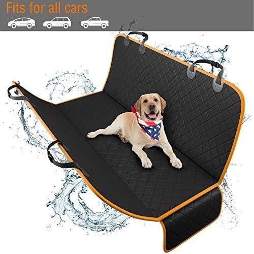 Cubierta protectora de asiento de coche contra mascotas 9
