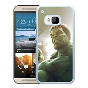 Beautiful And Durable Designed Case With Hulk Hero Art White For HTC ONE M9 Phone Case