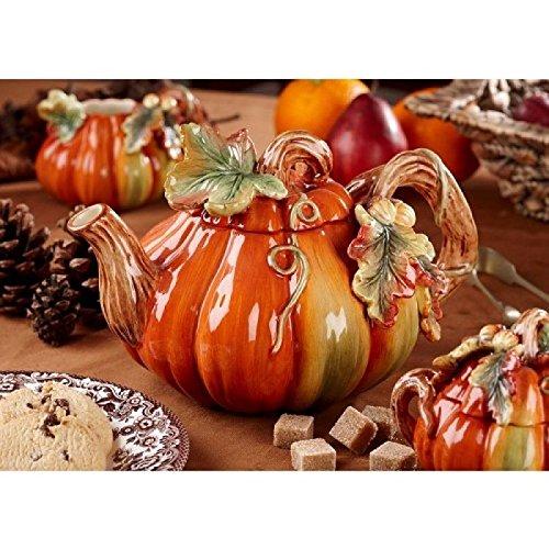 Spode Harvest Pumpkin Teapot