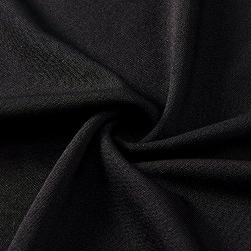 Midi Noir Pleated Jupes Funnycokid Femmes's Jupe t Bandage npPP0axB