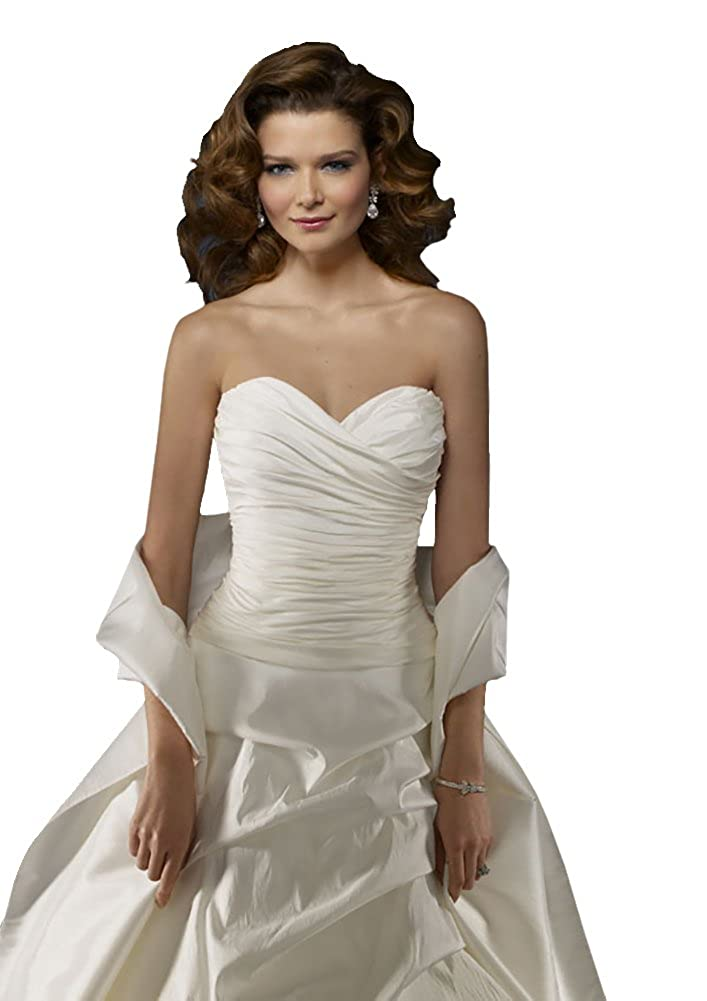 Cheap Wedding Dress Mori Lee Cheap Bridal Gown 4163 Satin - Pearl, Size 12 at Amazon Womens Clothing store: