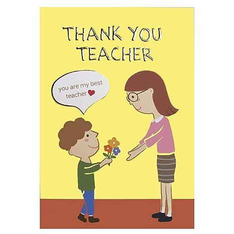 Amazon.com: Tarjetas de agradecimiento para el día del ...