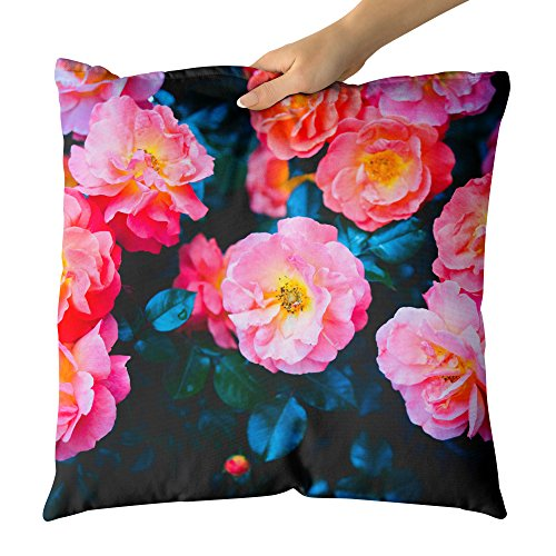 Westlake Art Petals Flower - Decorative Throw Pillow Cushion - Picture Photography Artwork Home Decor Living Room - 16x16 Inch - Rose Petal Cottage Collection