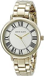 Anne Klein Women's AK/2064SVGB Gold-Tone Bracelet Watch