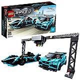 LEGO Speed Champions 76898 Formula E Panasonic Jaguar Racing GEN2 car & Jaguar I-PACE eTROPHY (564 piezas)