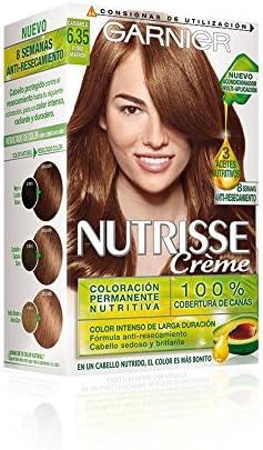 Garnier Nutrisse Coloración, Tono 6.35 Rubio Marron - 35 ml ...