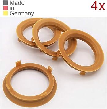 Konikon 4x Zentrierringe 70 1 X 57 1 Mm Hellbraun Felgen Ringe Radnaben Zentrierring Adapterring Ring Felgenring Distanzring Made In Germany Auto