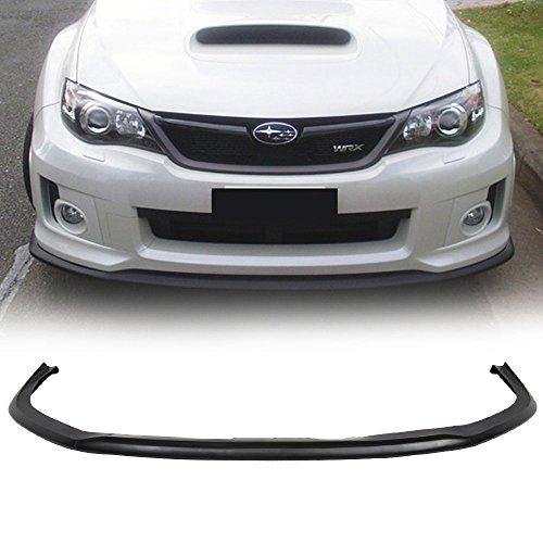- Front Bumper Lip Fits 2011-2014 Subaru Impreza WRX STI | CS1 Style PU Black Front Lip Spoiler Splitter by IKON MOTORSPORTS | 2012 2013