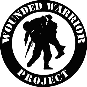 Amazon Com Wounded Warrior Project Vinyl Decal Car