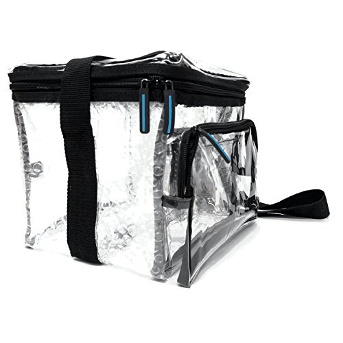 Large Heavy Clear Lunch Bag product image