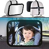Auto Sicherheitsspiegel / Spiegel für Baby & Kind (360° drehbar)