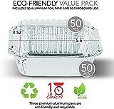 Aluminum Pans with Clear Plastic Lids