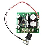 uniquegoods 12V 24V 36V 10A PWM DC Motor Speed Controller Adjustable Driver Variable Speed Switch CCMHCW