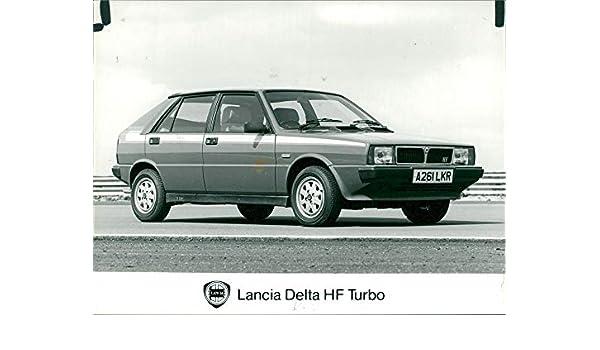 Amazon.com: Vintage photo of Lancia Delta HF Turbo: Entertainment Collectibles
