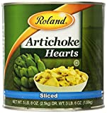 Roland Foods Artichoke Hearts, Sliced, 5.5 Pounds (Pack of 2)