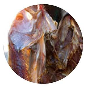 alfombrilla de ratón Pescado salado - ronda - 20cm
