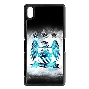 Manchester City FC Team Logo Cell Phone Case Original Design for Sony Xperia Z2